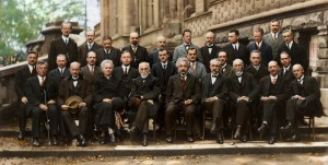 The Solvay Conference, colorata