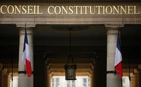 conseil constitutionel